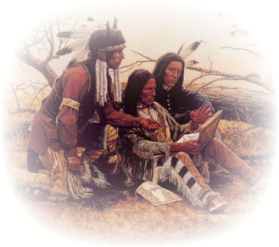 Индейцу отрезали член