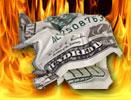Доллар, пепел и вулкан
